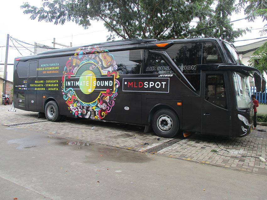Bus Branding – Event Branding – Bus Djarum MLD Spot