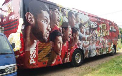 Bus Branding – Event Branding – Bus Djarum PSSI Kita Garuda