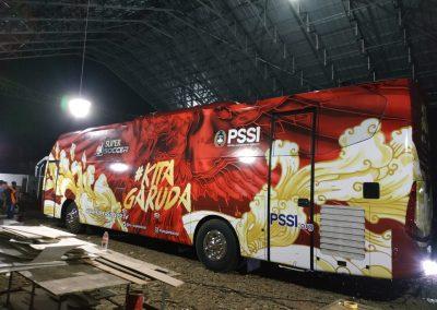 Branding Bus Djarum PSSI Kita Garuda 07