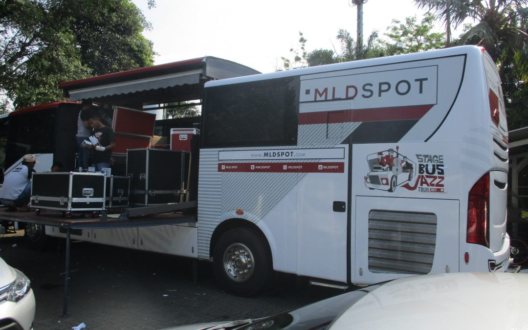 Bus Branding – Event Branding – Bus Djarum Stage Jazz