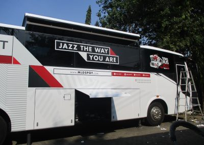 Branding Bus Djarum Stage Jazz 08