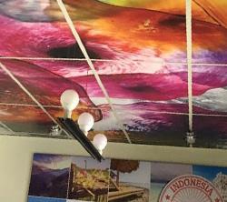Ceiling Print
