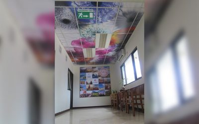 Ceiling Decorations – Direct Printing on PVC Board
