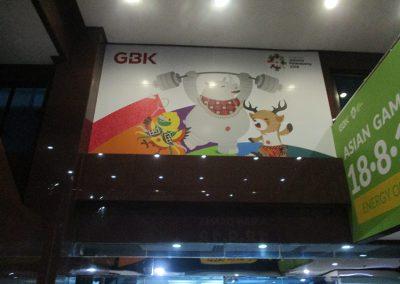 Office Branding - Wall Sticker - Asian Games 2018 01