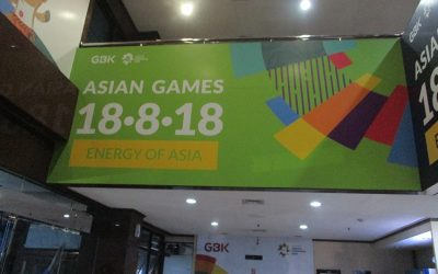 Office Branding  – Wall Sticker – Asian Games 2018