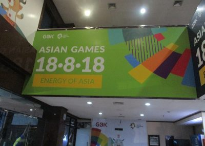 Office Branding - Wall Sticker - Asian Games 2018 02