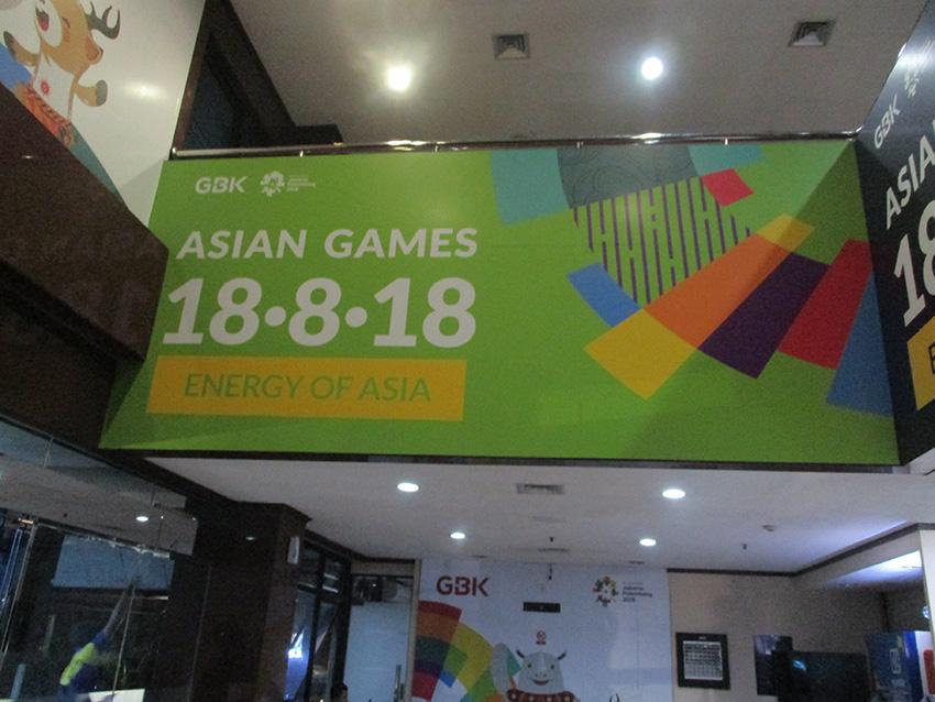 Office Branding  – Wall Sticker – Asian Games 2018