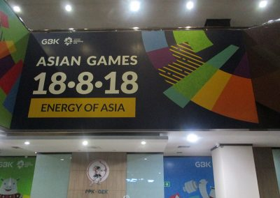 Office Branding - Wall Sticker - Asian Games 2018 03
