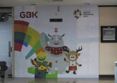 Office Branding - Wall Sticker - Asian Games 2018 06
