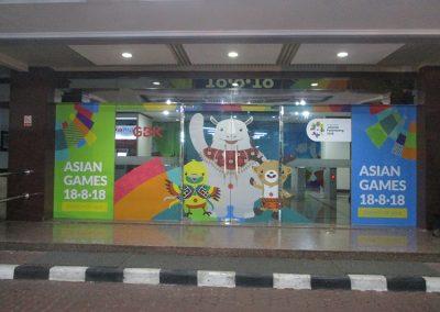 Office Branding - Wall Sticker - Asian Games 2018 08
