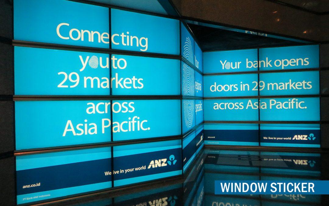 Office Branding – Window Backlight Sticker