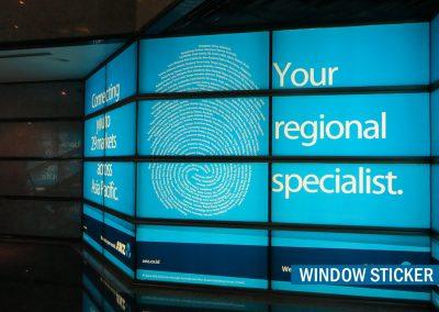 Office Branding Window Sticker 03