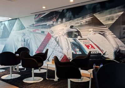 office branding - wallpaper Audi